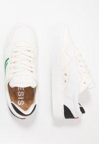Genesis - SOLEY UNISEX - Sneakersy niskie - white/green/black - 1
