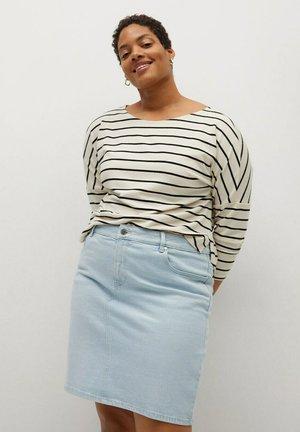 INMA - Pencil skirt - light blue