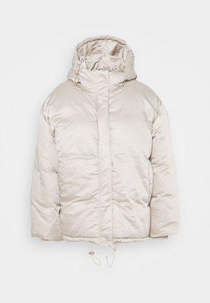 OVERSIZED PUFFER - Winter jacket - stone