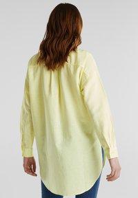 Esprit - Button-down blouse - lime yellow - 2