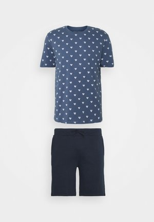 Pyjama set - blue/dark blue