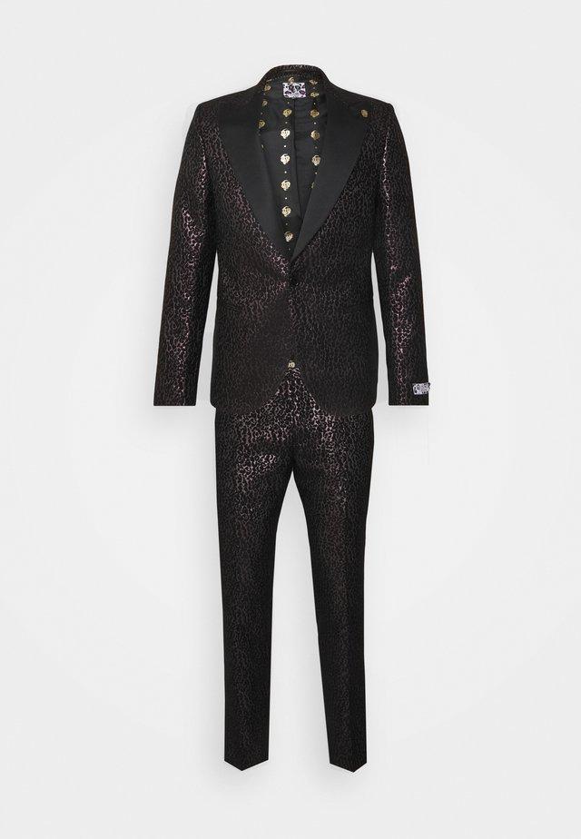 SUNDA SUIT SET - Kostuum - black pink