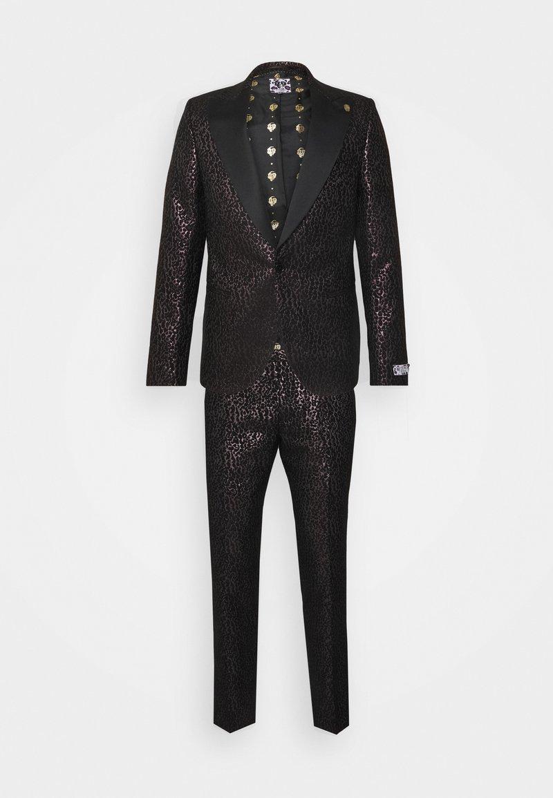 Twisted Tailor - SUNDA SUIT SET - Suit - black pink