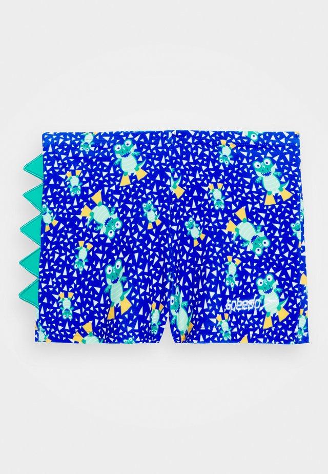 COREY CROC DIGITAL - Zwemshorts - beaut blue/emerald