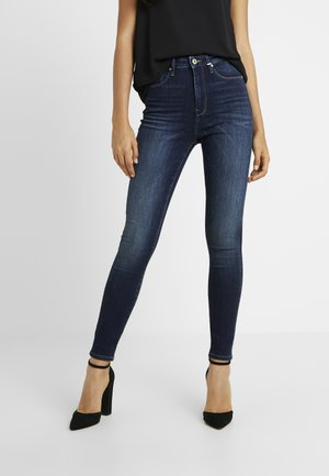 ONLGOSH HIGHWAIST - Jeans Skinny Fit - dark blue denim