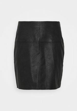 MINI SKIRT - Pencil skirt - black