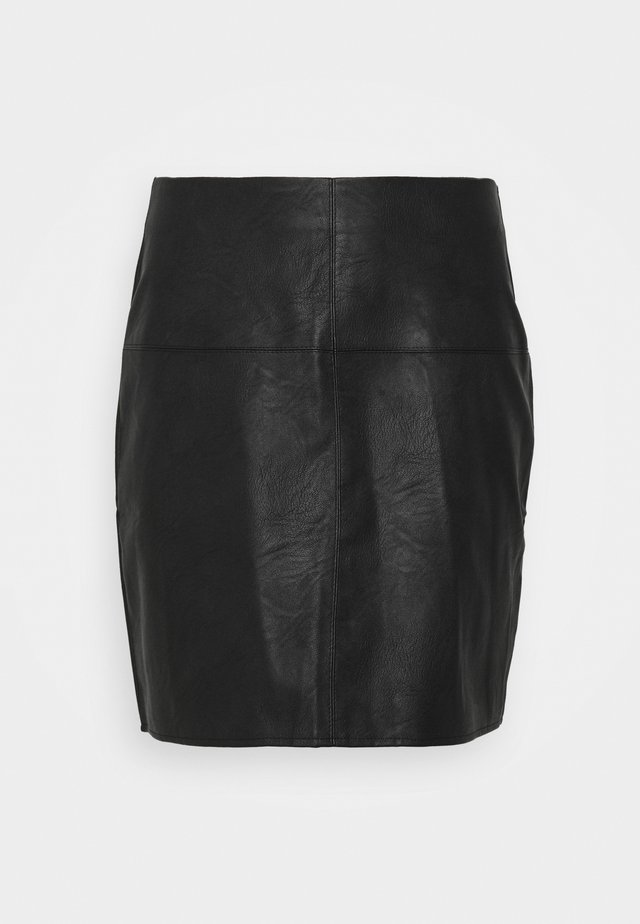 MINI SKIRT - Gonna a tubino - black