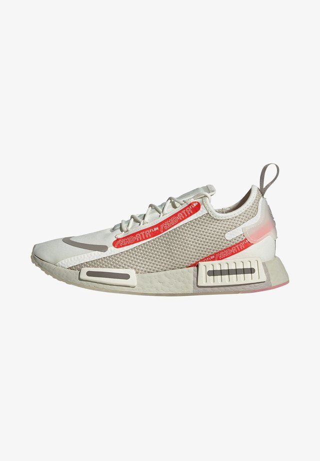 NMD_R1 SPECTOO UNISEX - Sneaker low - offwhite/core brown/light brown
