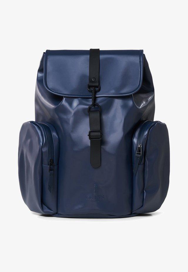 Rucksack - shiny blue