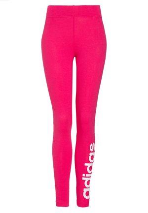 LIN - Leggings - power pink/white