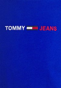 Tommy Jeans - LINEAR LOGO TEE - T-shirt med print - blue - 2
