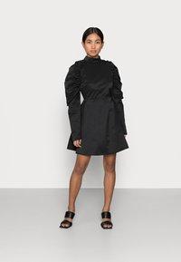 Glamorous Petite - LADIES DRESS - Day dress - black - 0