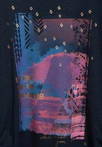 Cecil - MIT FOTOPRINT - Print T-shirt - blau - 4