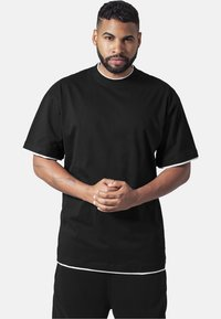 Urban Classics - T-shirt - bas - black,white - 0