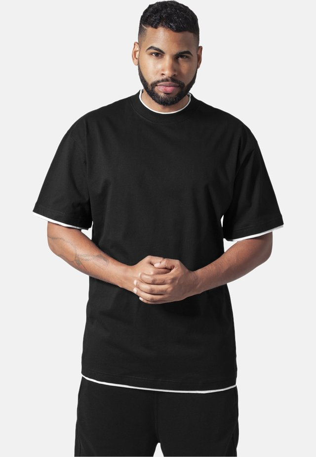 Basic T-shirt - black,white