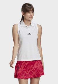 adidas Performance - TENNIS MATCH TANK TOP HEAT.RDY - Polo shirt - white - 0