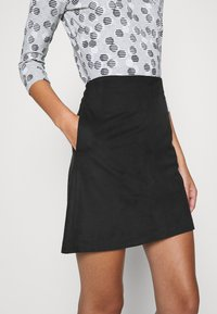 Esprit - A-line skirt - black - 5
