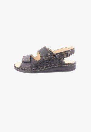 Sandals - bison schwarz