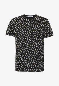 Calvin Klein Jeans - PALM TEE - Print T-shirt - black - 0