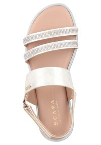 Scapa - Wedge sandals - silver - 3