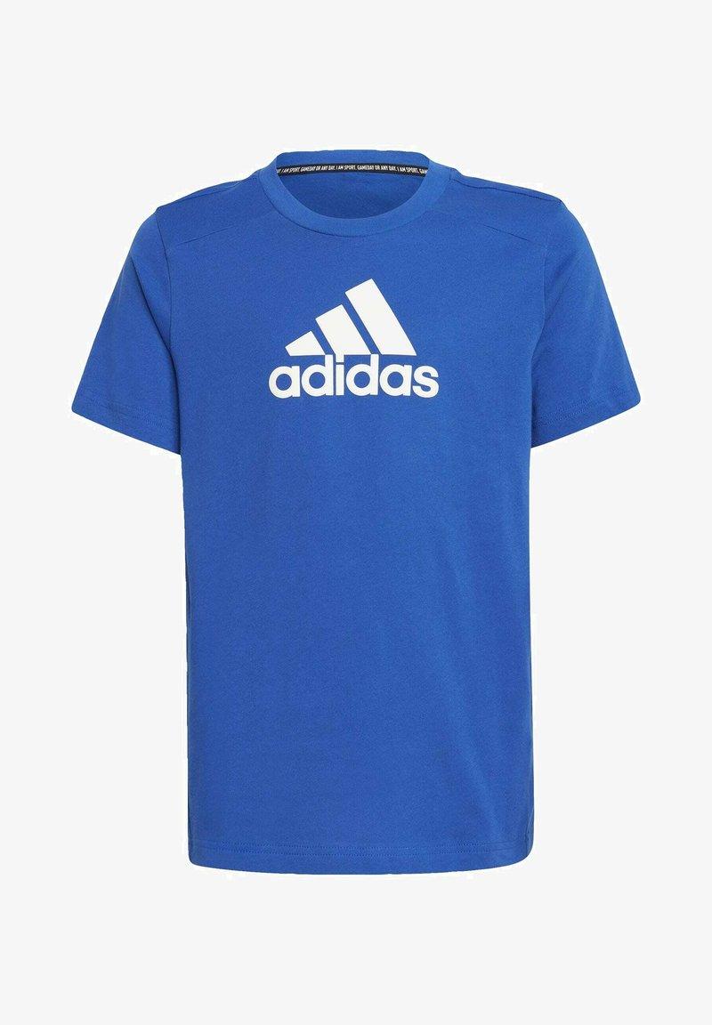 adidas Performance - LOGO T-SHIRT - Print T-shirt - blue