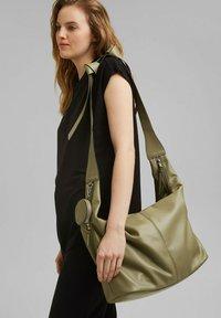 edc by Esprit - PIXIE  - Handbag - light khaki - 0