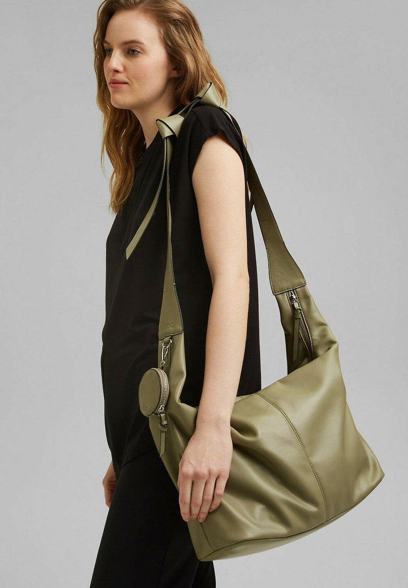 edc by Esprit - PIXIE  - Handbag - light khaki