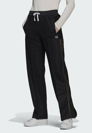 WIDE-LEG JOGGERS - Trainingsbroek - black