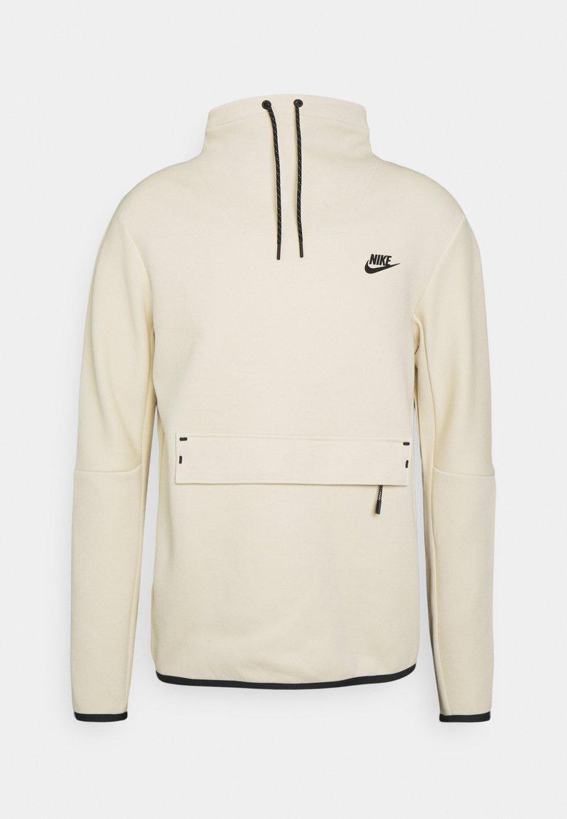 Nike Sportswear - M NSW TCH FLC LS FNL - Sweatshirt - beach/black