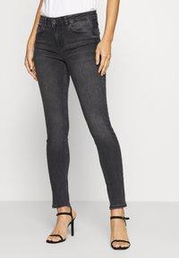 Liu Jo Jeans - UP DIVINE - Vaqueros pitillo - black ermine - 0