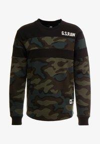 G-Star - GRAPHIC 7 R SW L\S - Sweatshirt - dark combat/fearn - 4