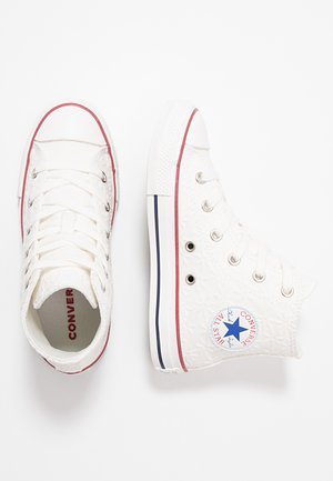 CHUCK TAYLOR ALL STAR LITTLE MISS CHUCK - High-top trainers - white/garnet/midnight navy