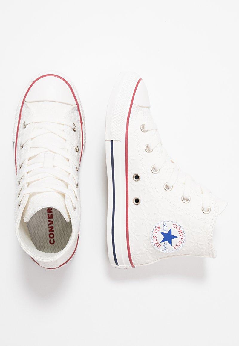 Converse - CHUCK TAYLOR ALL STAR LITTLE MISS CHUCK - Sneakers hoog - white/garnet/midnight navy