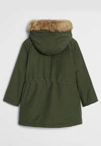 Mango - FAUX SHEARLING LINING - Winter coat - khaki - 1