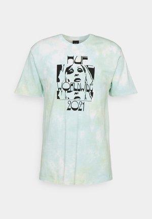 WASTED DARLING TEE - Print T-shirt - blue
