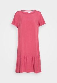 Marc O'Polo DENIM - DRESS FRILL SKIRT - Day dress - blackberry sorbet - 4