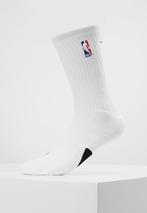 CREW NBA - Sports socks - white/black