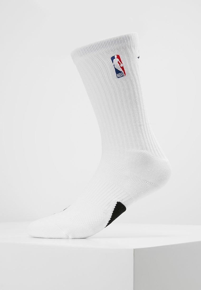 Jordan - CREW NBA - Sportovní ponožky - white/black
