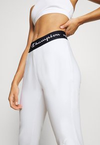 Champion - CUFF PANTS LEGACY - Tracksuit bottoms - white - 3