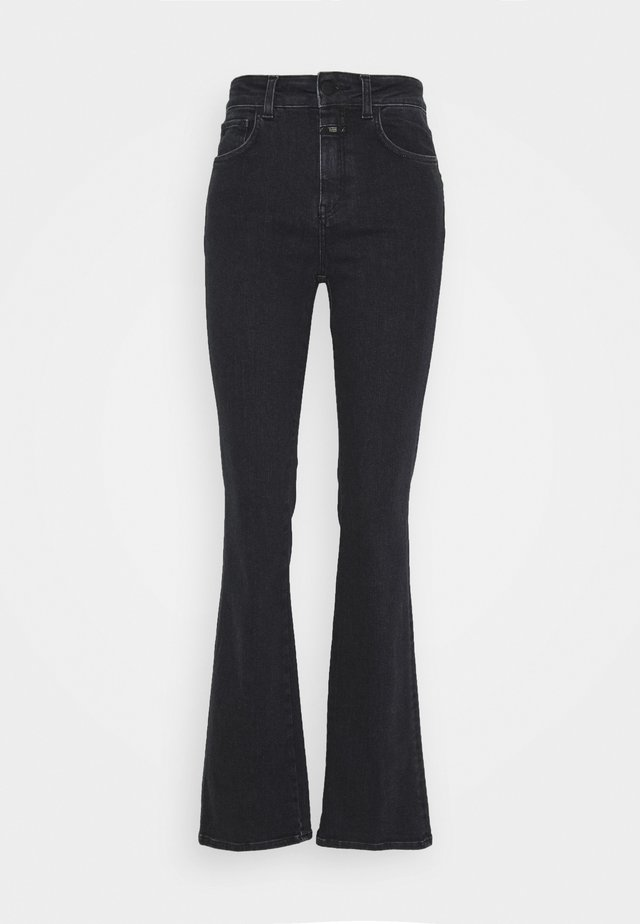 LEAF - Flared Jeans - dark grey