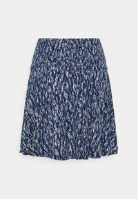 ICHI - IHLISA  - A-line skirt - cashmere blue - 1