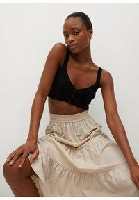 Mango - A-line skirt - arena - 5