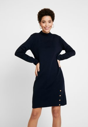 Pletené šaty - marine blue