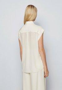 BOSS - Button-down blouse - natural - 2