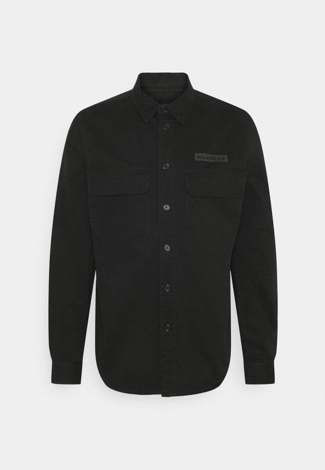 HOXEN WORK SHIRT - Košile - black