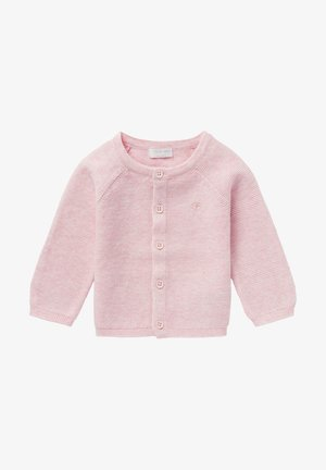 NAGA - Cardigan - light rose melange
