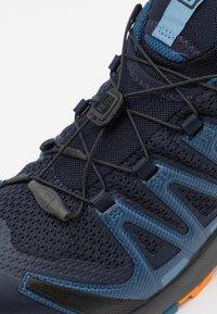 Salomon - XA PRO 3D V8 - Hiking shoes - night sky/dark denim/buttersco - 5