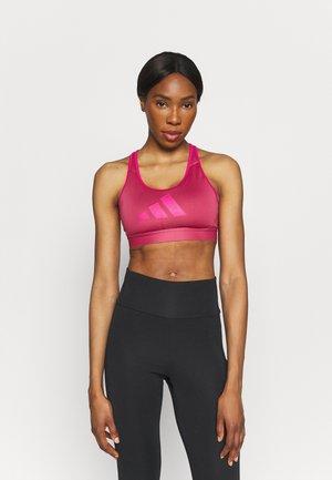 3 BAR BRA - Medium support sports bra - pink