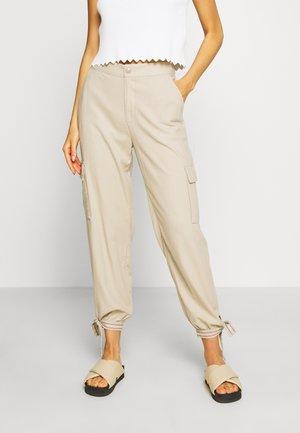 CARGO - Cargo trousers - soft beige