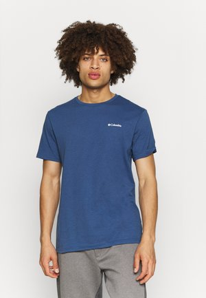 PINE TRAILS™ GRAPHIC TEE - T-shirt med print - night tide